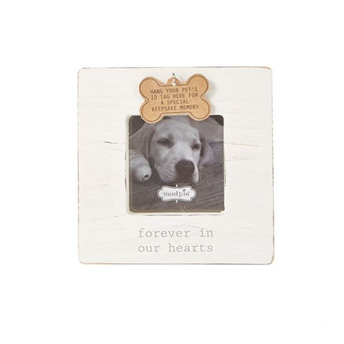 Forever in Our Hearts Dog Tag Frame