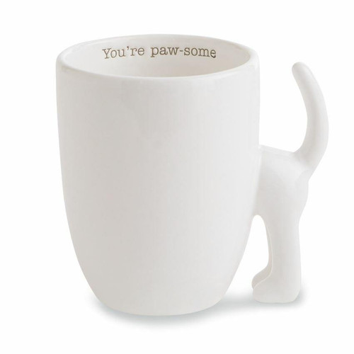Youre Paw-some Dog Tail Mug Wendell August