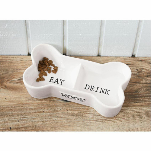 Eat and Drink Bone Pet Bowl Wendell August