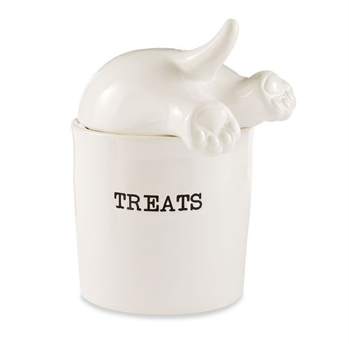 Dog Tail Treat Canister Set