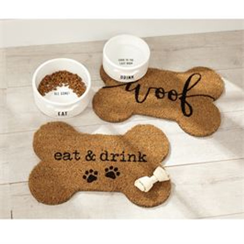 Eat and Drink Dog Bowl Placemat
