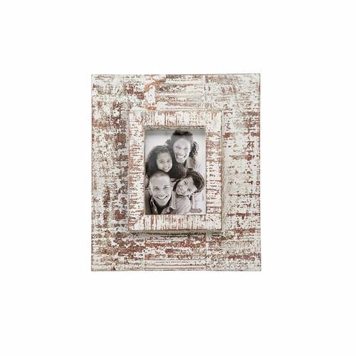 Medium White Washed Layered Frame Wendell August