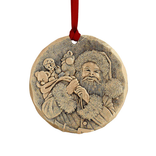 2019 Annual Ornament – A Visit from St Nicholas Bronze Wendell August
