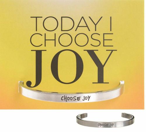 Choose Joy Cuff Bracelet Wendell August