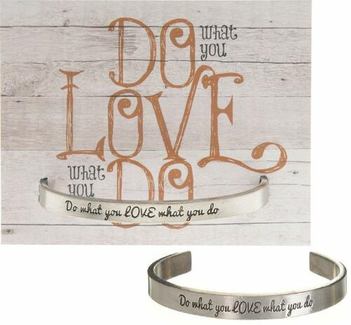 Do What You Love Cuff Bracelet Wendell August