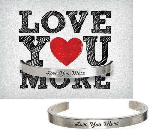 Love You More Cuff Bracelet Wendell August
