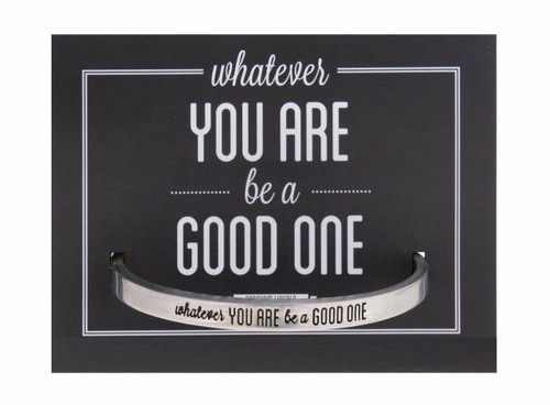 Be A Good One Cuff Bracelet Wendell August