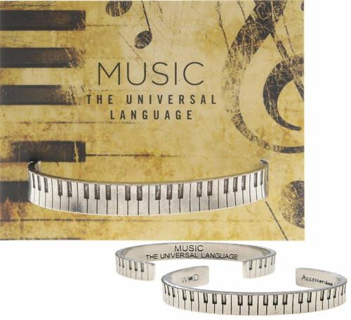Piano Cuff Bracelet Wendell August