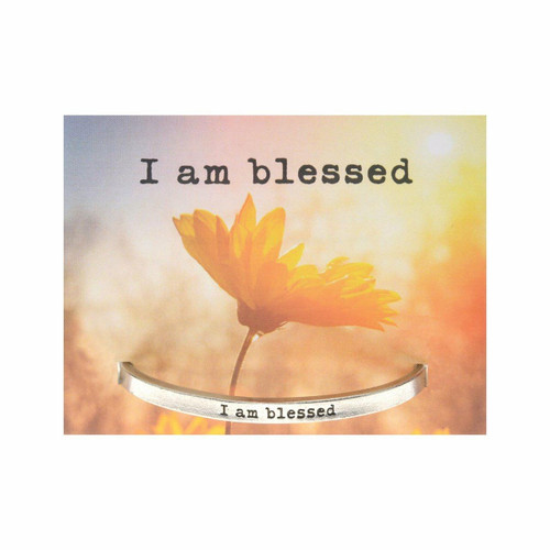 I am Blessed Cuff Bracelet Wendell August