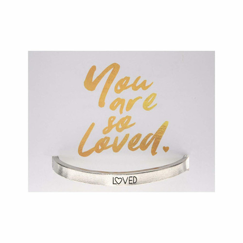 You are Loved Cuff Bracelet Wendell August