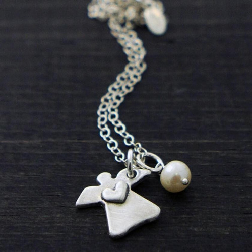 Little Angel Necklace Wendell August