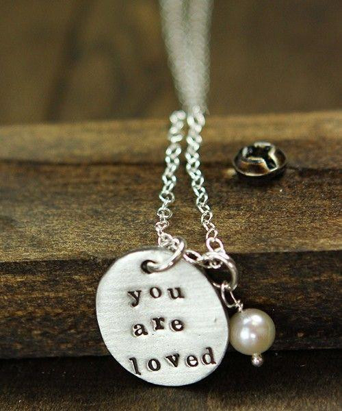 You are loved back necklace
