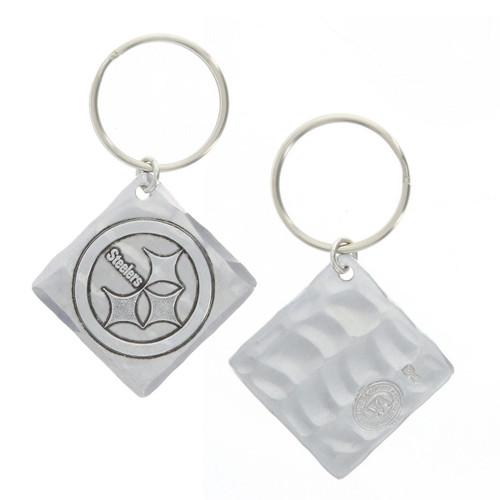 Pittsburgh Steelers Logo Key Chain Aluminum Wendell August