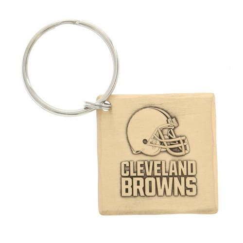 Cleveland Browns Logo Key Chain Bronze Wendell August