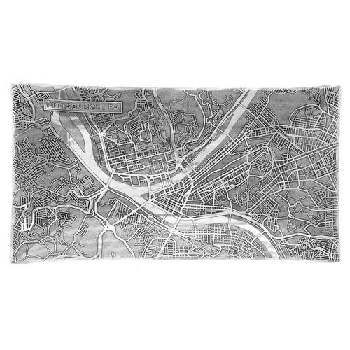 Pittsburgh Map Small Horizon Server Wendell August
