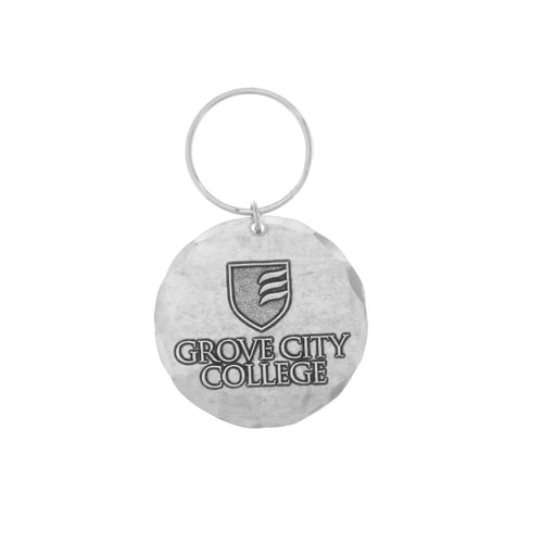 Grove City College Round Key Ring Wendell August
