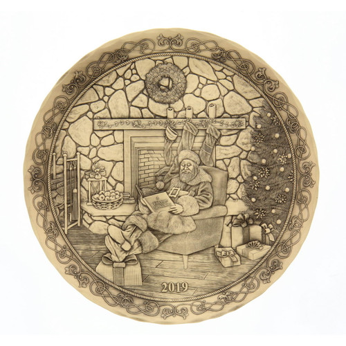 2019 Annual Plate- A Story from St Nicholas Bronze Wendell August