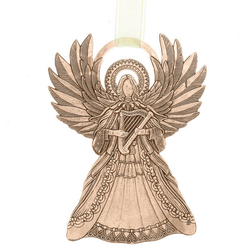 Angel of Harmony Ornament Bronze Wendell August