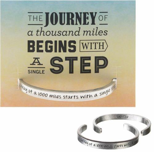 Journey Begins Cuff Bracelet Wendell August