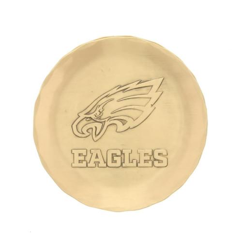 Philadelphia Eagles Logo Coaster Bronze Wendell August