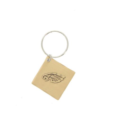 Philadelphia Eagles Logo Key Chain Bronze Wendell August
