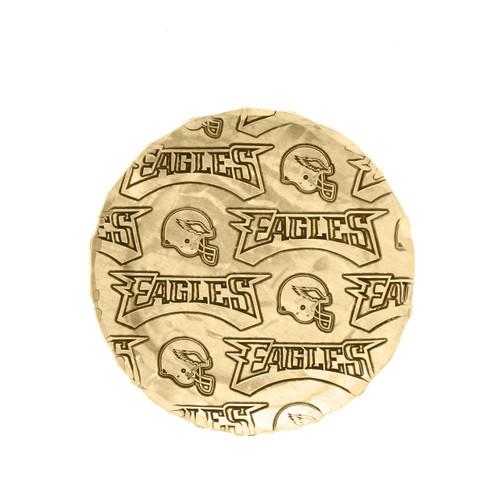 Philadelphia Eagles Patterned Coaster Bronze Wendell August
