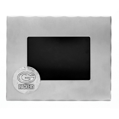 Green Bay Packers Logo Picture Frame Wendell August