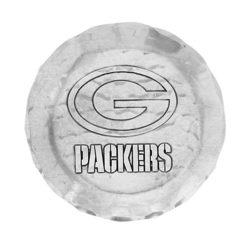 Green Bay Packers Logo Coaster Aluminum Wendell August