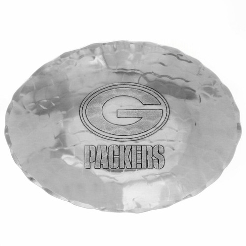 Green Bay Packers Logo Small Oval Bowl Wendell August