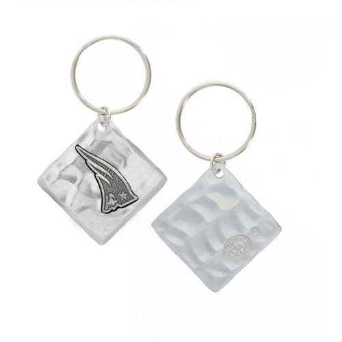 New England Patriots Logo Key Chain Wendell August