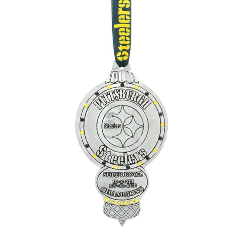 Pittsburgh Steelers Collectors Edition Ornament with Crystals Wendell August