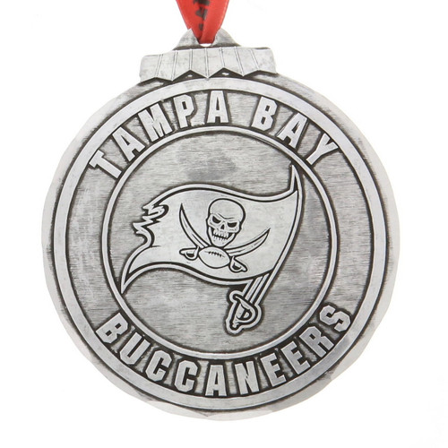 Tampa Bay Buccaneers Classic Round Ornament Aluminum Wendell August