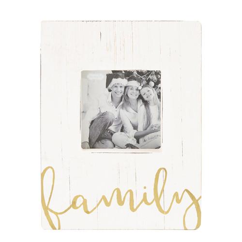 Family Block Frame Wendell August