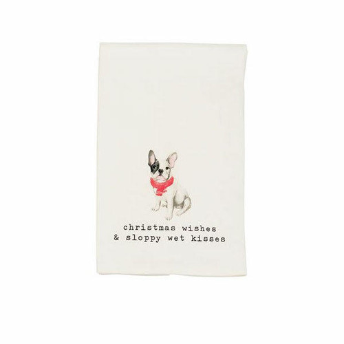 Wishes Pet Watercolor Towel Wendell August