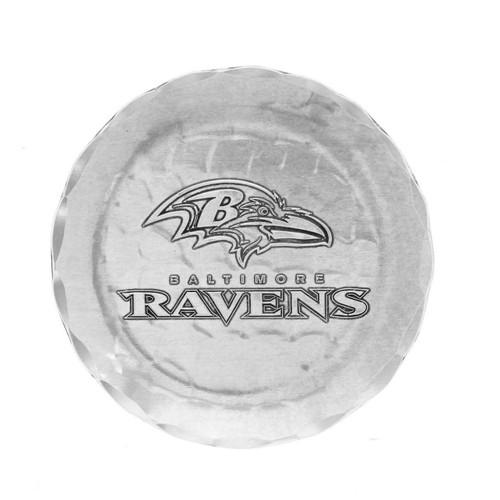 Baltimore Ravens Logo Coaster Aluminum Wendell August