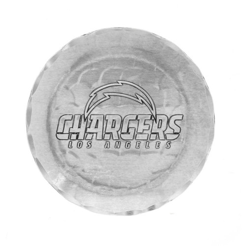 Los Angeles Chargers Logo Coaster Aluminum Wendell August