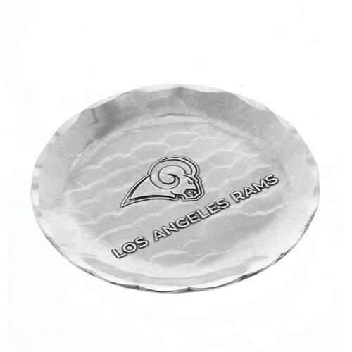 Los Angeles Rams Logo Coaster Aluminum Wendell August