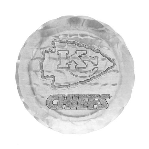 Kansas City Chiefs Logo Coaster Aluminum Wendell August
