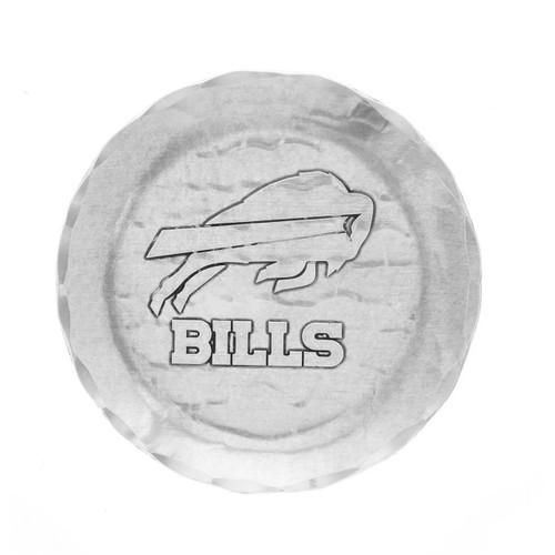 Buffalo Bills Logo Coaster Aluminum Wendell August