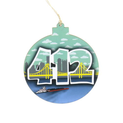412 Wooden Ornament Wendell August