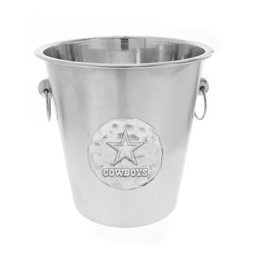 Dallas Cowboys Logo Champagne Bucket Wendell August