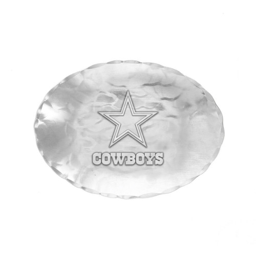 Dallas Cowboys Logo Small Oval Bowl Wendell August