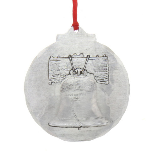 Liberty Bell Classic Round Ornament Wendell August