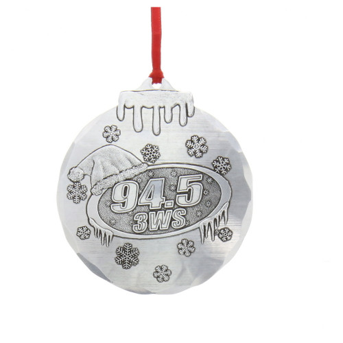 3WS 94.5 Holiday Ornament