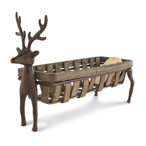 Deer Cracker Basket