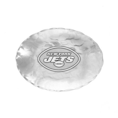 New York Jets Logo Small Oval Bowl Wendell August