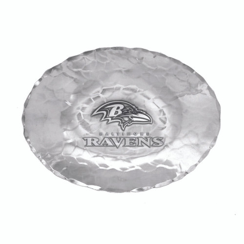 Baltimore Ravens Logo Small Oval Bowl Wendell August