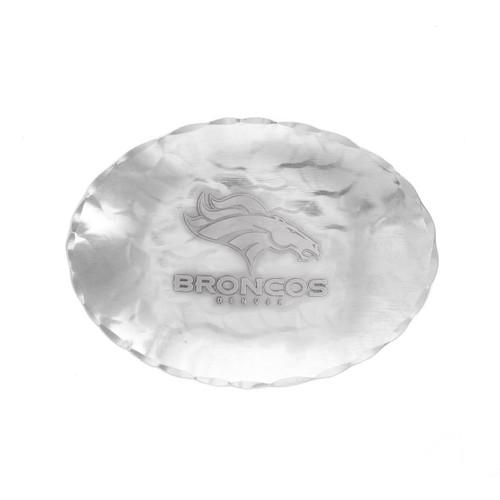 Denver Broncos Logo Small Oval Bowl Wendell August