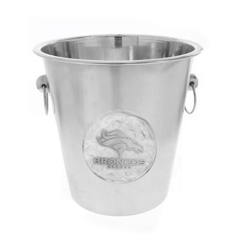 Denver Broncos Logo Champagne Bucket Wendell August