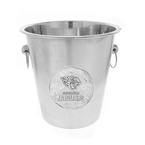 Jacksonville Jaguars Logo Champagne Bucket Wendell August